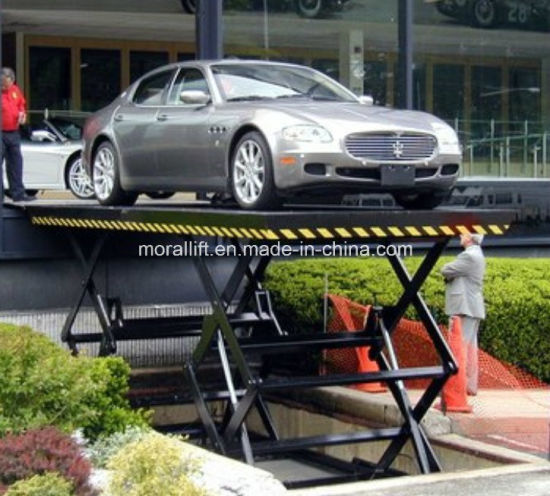 Underground Garage Car Scissor Lift Hydraulic