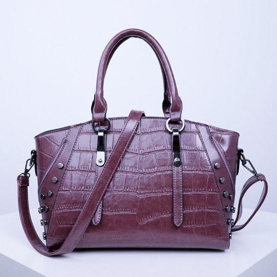 Vintage Style Guangzhou Factory Wholesale Women Handbag Tote Bag Sh594