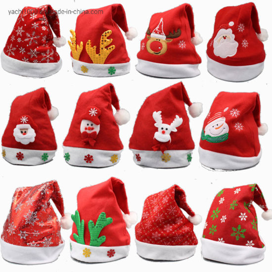 Wholesale Christmas Ornaments Decoration 2019 Christmas Hats for Christmas Carnival Party pictures & photos