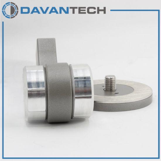 Aluminum Handrail Bracket Curved Shape 42mm PRO-DC42-R