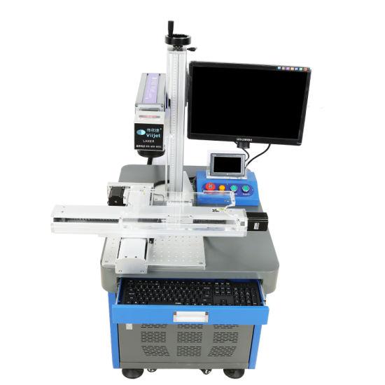 Intelligent Laser Engraving/Marking Machine Fiber Laser Printer/Machine for Button Battery