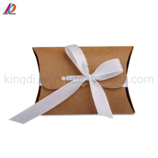 How to make Square Pillow Present / Gift box with Paper   Gift box ...   550x550