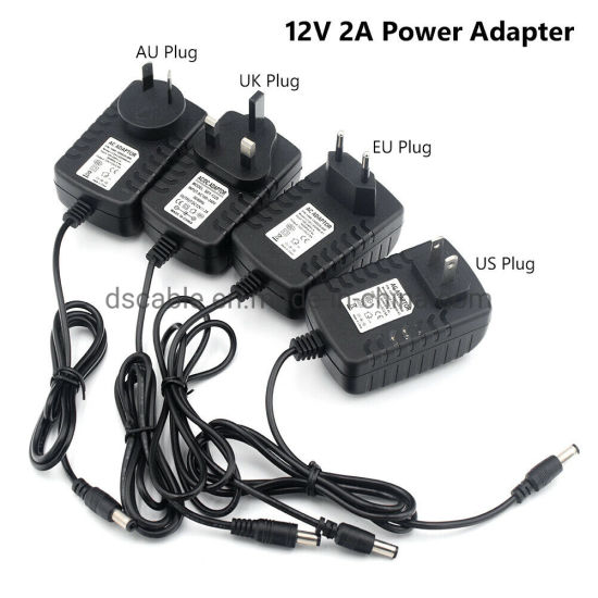12V 1A to 5A AC DC Power Supply Wallplug Power Adapter