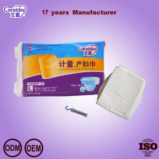 Disposable Adult Diaper for Puerpera Use pictures & photos