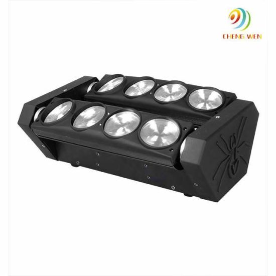 Eight-Eyes 10W LED Moving Head Spider Light Stage Disco Party