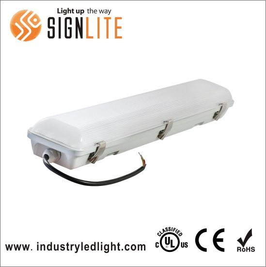 1.5m 60W ETL Listed LED Tri-Proof Light with Ik 10 IP65, LED Vapor Tight Are Used for Harsh Environment