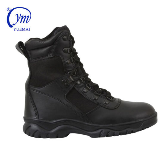 Classical Genuine Leather Combat Swat Police Army Tactical Military Boots
