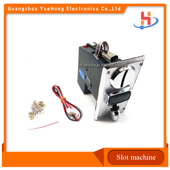 High Quality Game Parts Coin Acceptor Coin Selector Currency Receiver for Slot Game Machine Factory