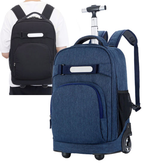 Fashion Leisure Promotional Travelling Carry on Wheeled Business Kids Children Bags Travel Trolley School Backpack pictures & photos