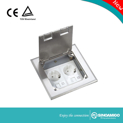 Sinoamigo Open Type Floor Box Silver