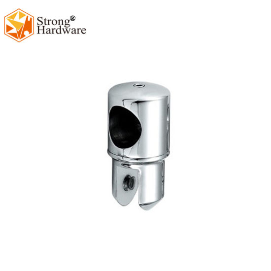 High Quality Brass Mirror 19/25mm Glass Connector Shower Glass Door Tube Connector