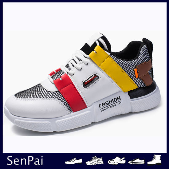 New Design Men Size Flat Fashion Skate Casual Shoes