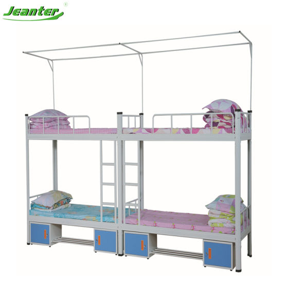 China Free Sample Army Staff Home Metal Futon Bunk Bed Frame China Bunk Beds School Beds