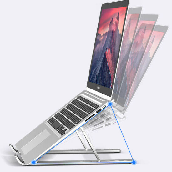 Adjustable Aluminum Invisible Laptop Stand for Laptops