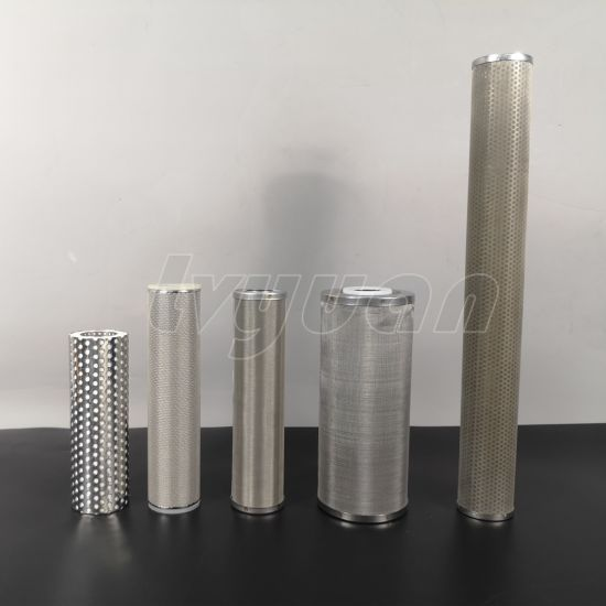 SUS304/316L 10 Microns Oil Filtration Stainless Steel Sintered Filter Tube for Replacement Spare Parts