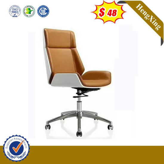 Real Leather Creative Design Swing Gaming Chair with Aluminum Material pictures & photos