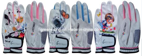 Most Popular Fashion Design Leather Golf Gloves on Sales