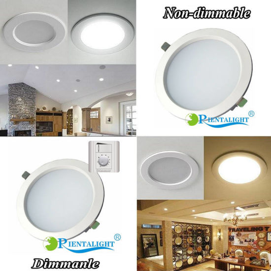 3/3.5/4/5/6/8 Inch Dimmable LED Restaurant Living Room LED Ceiling Light pictures & photos