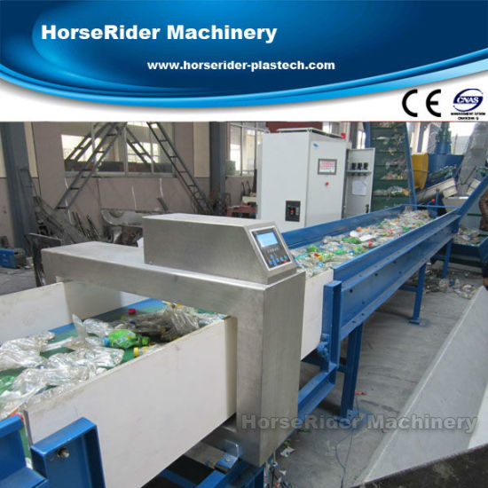 Pet Bottle Flakes Washing Recycling Production Line