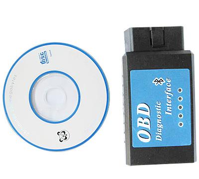 Bluetooth ELM327 diagnostic interface
