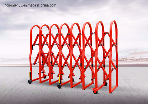 Road Barrier with Brakes and Interlock