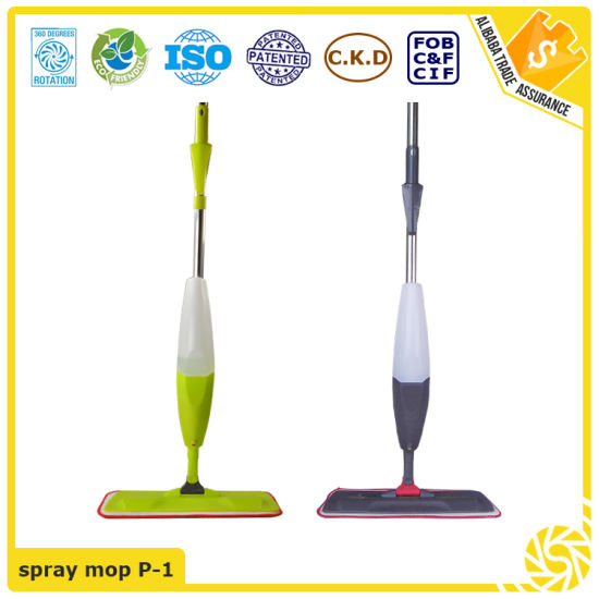 Made in China 360 Degree Household Cleaning Swivel Spray Mop pictures & photos