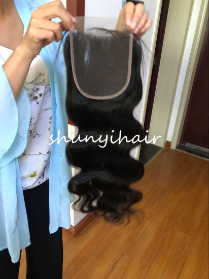 Wholesale Body Wave Lace Closure 5*5 Remy Hair Lace Closure 100% Human Hair Closure Natural Color