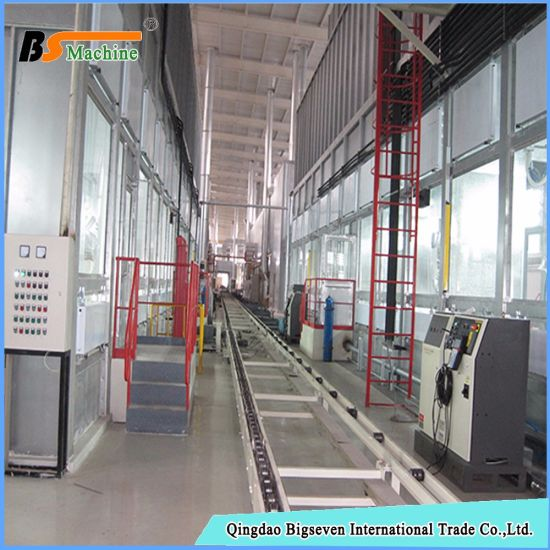 china powder spray booth for wire netting china machine, spraying