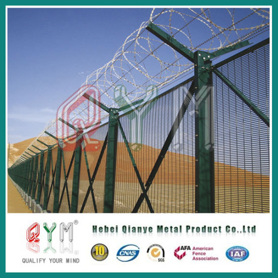 China Security Fence/ 358 Anti-Climb Fence/ Prison Military Razor ...