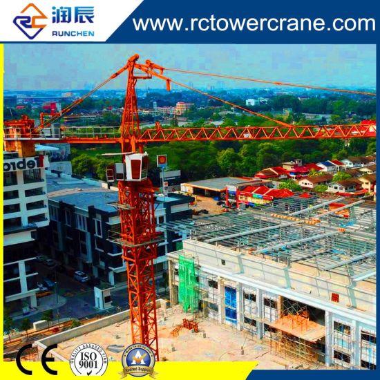 Ce Certificate Topkit /Hammer Head Self Erecting/Inner Climbing/Travelling Tower Crane for Construction