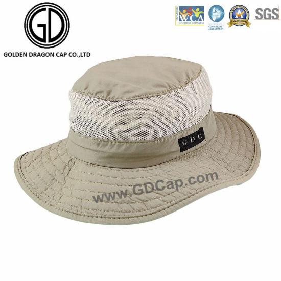 11a728d934f412 Classics Wide Brim Breathable Cowboy Sun Summer Bucket Hat pictures & photos