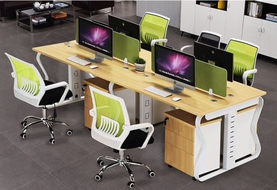 Wooden Staff Operative Table Workstation (OWCK-1001-296)