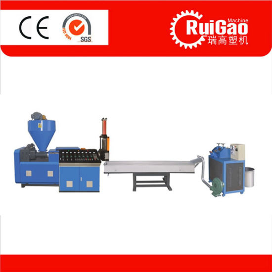 High Ouptut Single Screw Waste Plastic Recycling Machine Price pictures & photos