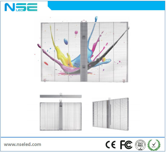 Wholesale Price P10mm Full Color Transparent Display Indoor LED Screen