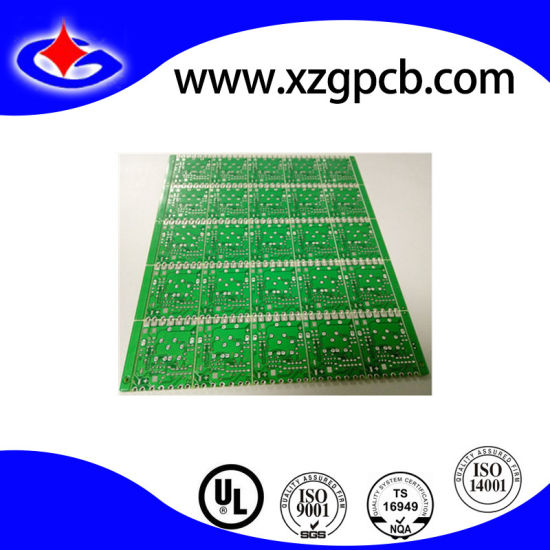 China Multilayer PCB with Half Hole and Edge Plating - China Half