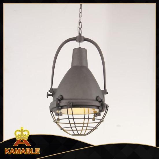 Iron Retro Classical Pendant Lamp Km047p (antique grey)