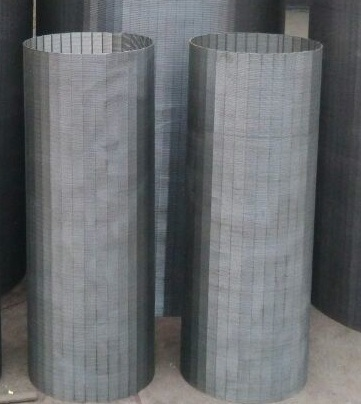 Tec-Sieve Wedge Wire Screen Cylinders-Od 380mm and Slot Opening 0.4mm