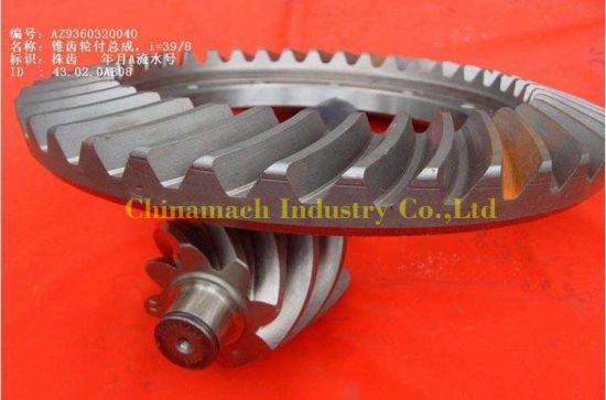 HOWO Truck Parts Wg9360320049 Bevel Gear
