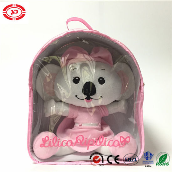 China Baby Girl Plush Doll Packed In Pvc Bag Soft Toy China Soft