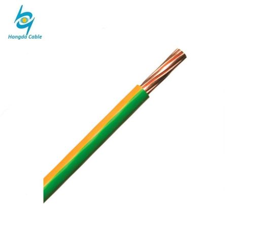 China Copper Red Green Yellow Black Blue PVC House Wiring Electric ...
