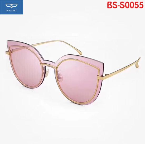 4563f5f194ad Hot Selling Fashionable Metal Sunglasses for Women 6 Colors Option - China  Optical Glasses