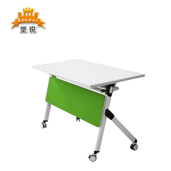 Movable Folding Furniture School Meeting Traning Table