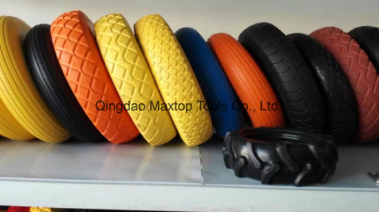 Hand Pallet Truck Rubber Wheel Small Size Rubber Wheel. pictures & photos