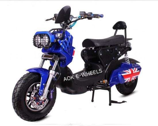 1200W Racing Electric Motorbike with Disk Brake (EM-008) pictures & photos