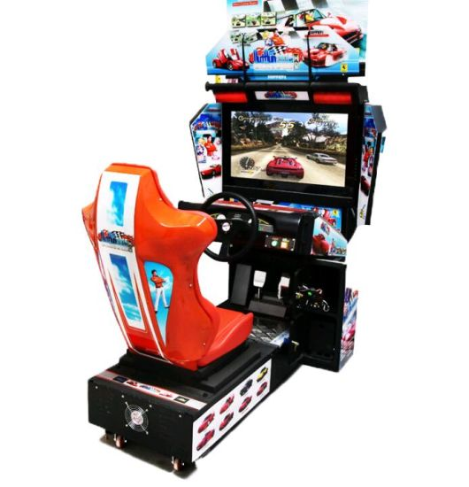 china coin operated arcade game car racing game machine china