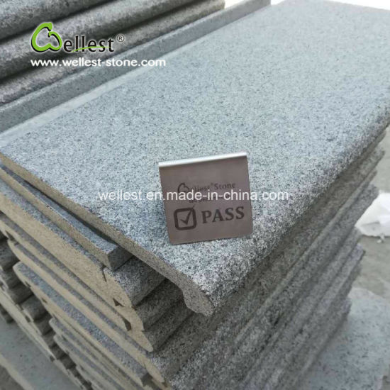 Classic Dark Grey Color Swimming Pool Coping Stones