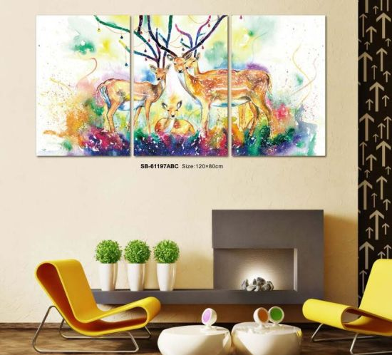 Cheap China Factory Price Mass Production PVC Non-Frame Painting pictures & photos