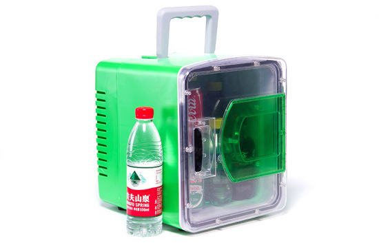 Portable Mini Fridge 8 Liter DC12V, AC100-240V with Cooling and Warming for Car, Office or Home Application pictures & photos