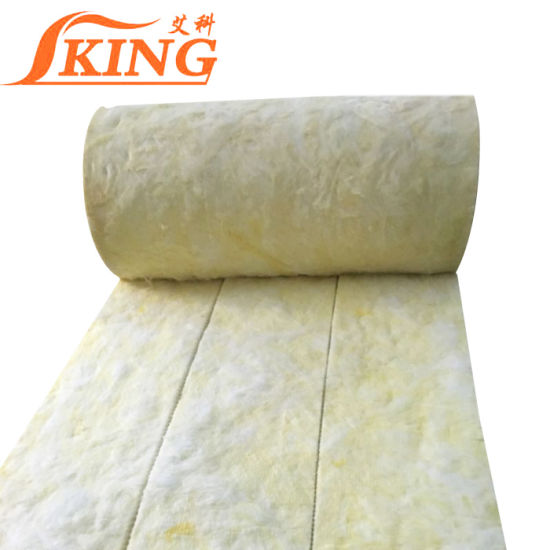 China Duct Wrap Heat Insulation Glass Wool Price