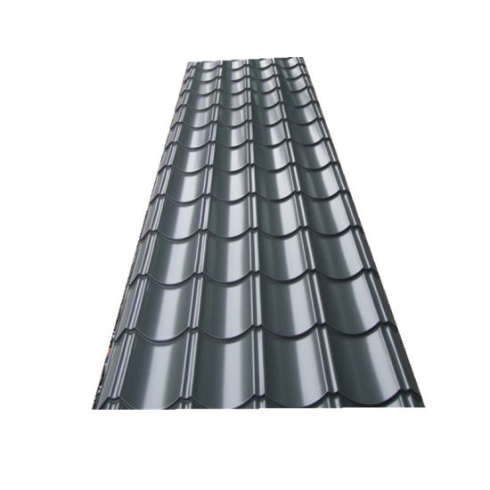 China Color Coated Corrugated Metal Long Span Roofing